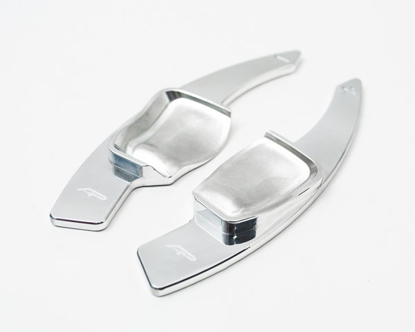Agency Power AP-BP0004B-S    Paddle Shifter Extensions Bright Silver Volkswagen MK6 All Models; 2007-2013