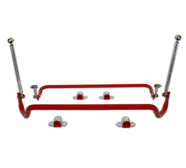 Spohn Performance C10-SBK1 | Spohn Camaro Front & Rear Tubular Sway Bars Set; 2010-2012