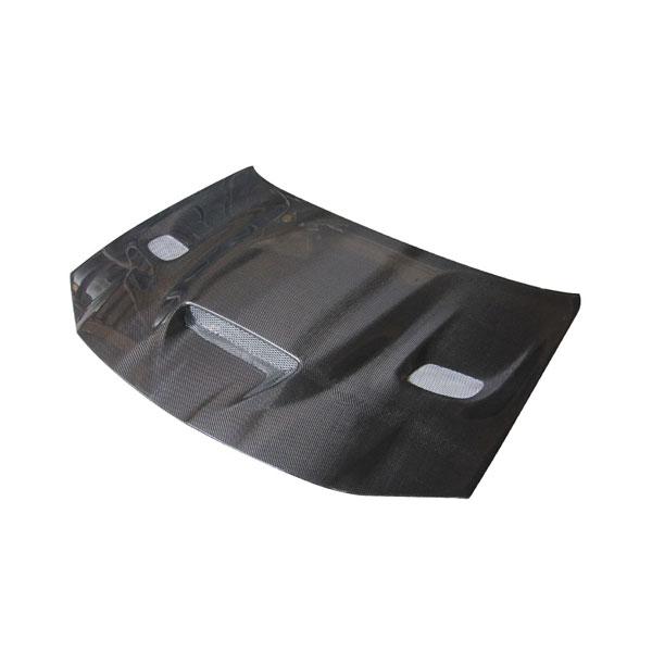 Amerihood C311AHCATCFH | Chrysler 300 Type-HC Style Functional Ram Air Heat Extraction Carbon Fiber Hood; 2011-2021