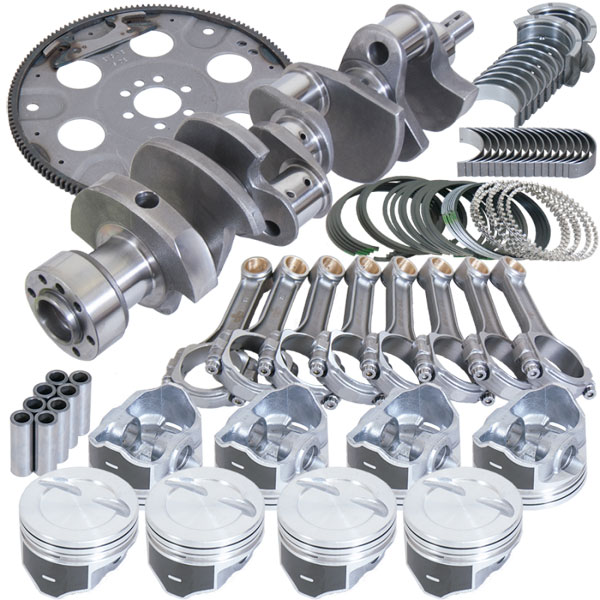 Eagle b13504l04053 | Chevrolet LT1 Balanced Rotating Assembly .040in Oversize Bore 5.700in Standard I-Beam