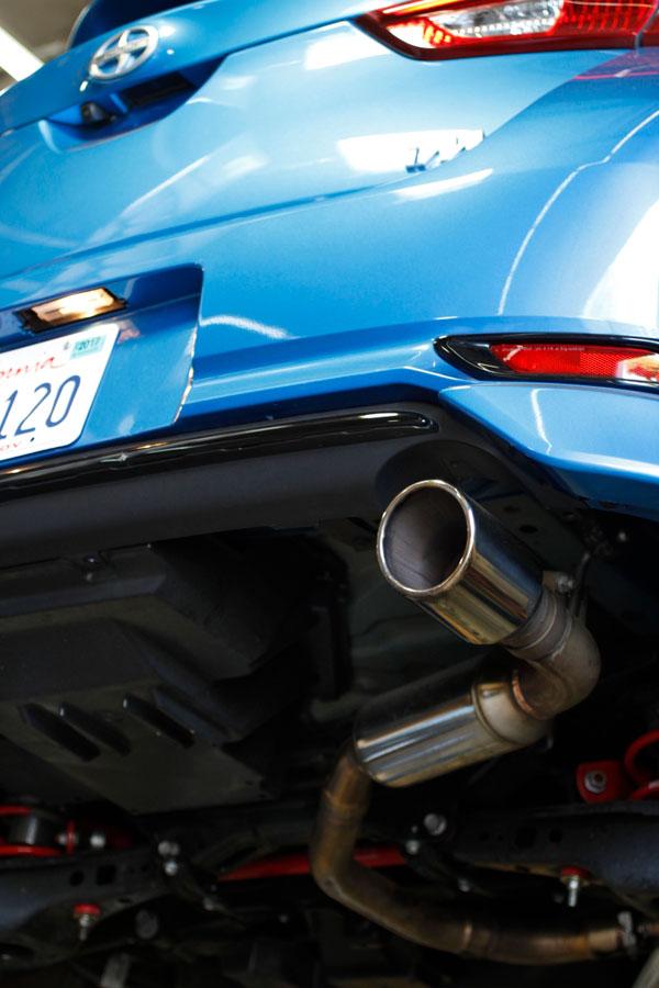 MXP mxcrim | 16-18 Toyota iM SUS401 Comp RS Exhaust System; 2016-2018