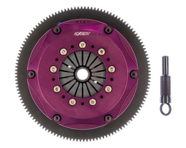 Exedy Racing NM063SR | Exedy Hyper Triple Cerametallic Clutch Kit NISSAN 300ZX V6 3; Rigid Disc; Push Type; 1990-1996