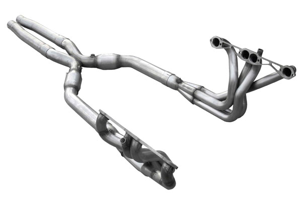 American Racing Headers C4-84134300LSWC: ARH LongTube 1-3/4 304-SS Headers with cats and 3inch x-pipe Corvette 1984-1991 C4