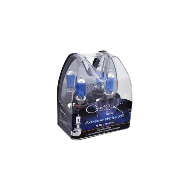Hella h71071012 | H10 12V 65W Xen White Bulb (Pair)