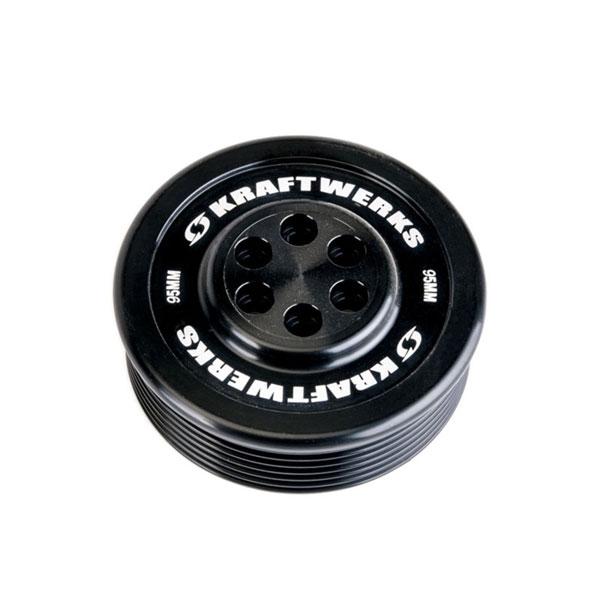 KraftWerks 159-99-9507 | Supercharger Pulley - 95mm 7 Rib