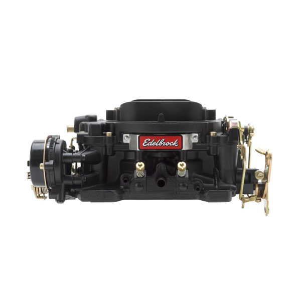 Edelbrock 14073 | Carburetor Performer Series 4-Barrel 750 CFM Manual Choke Black Finish