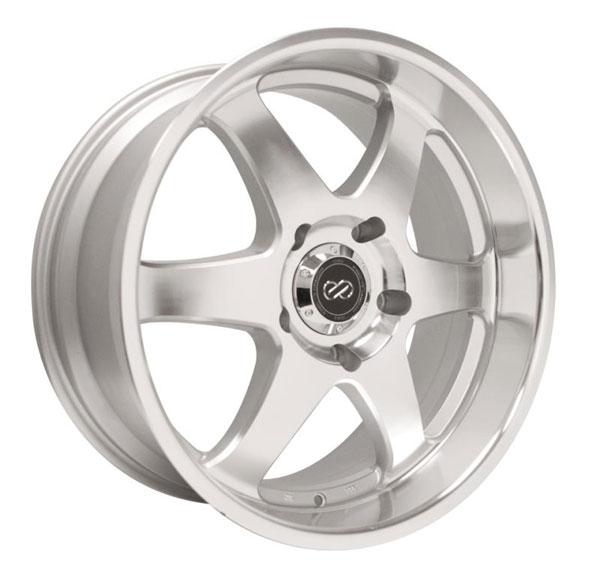 Enkei 470-780-8335sm | ST6 17 x 8 35mm Offset 6x139.7 Bolt Pattern 78mm Bore Dia Silver Machined Wheel