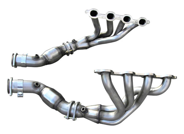American Racing Headers C7-14134300MLNC | C7 Mid Length System No Cats: 1-3/4in x 3in Mid Length Headers, 3in Mid Length Connection Pipes No Cats; 2014-2019