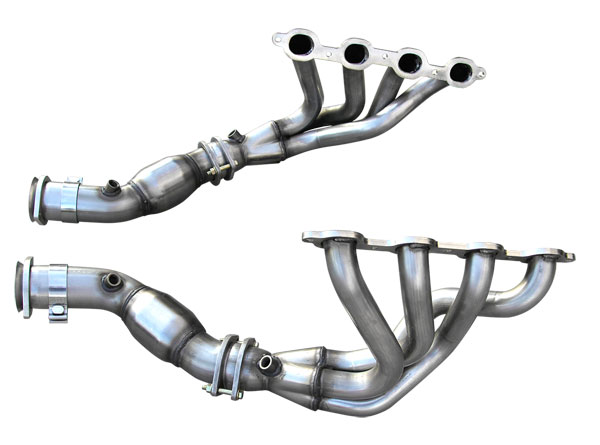 American Racing Headers C7-14134300MLWC:  ARH Corvette C7 2014-16 Mid Length 1-3/4 inch 304-SS Headers with Cats