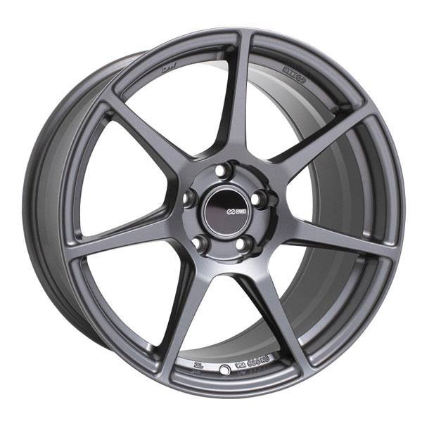 Enkei 516-790-6540gm | TFR 17x9 5x114.3 40mm Offset 72.6 Bore Diameter Matte Gunmetal Wheel