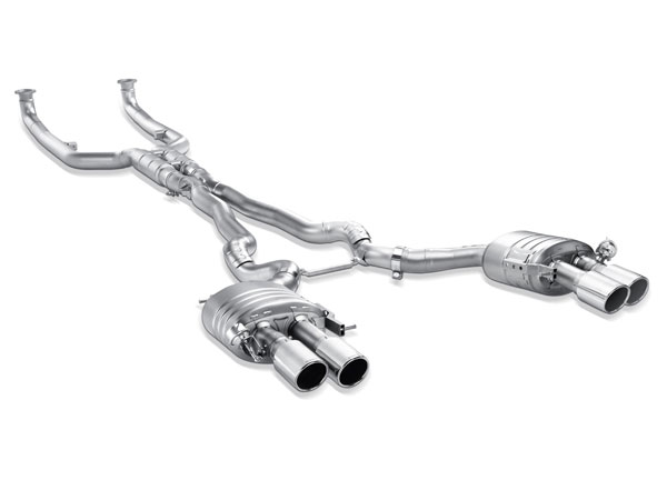 Akrapovic ME-BM/T/4-T |  BMW M5 (F10) Evolution Line (Titanium) w/ Titanium Tips; 2011-2017