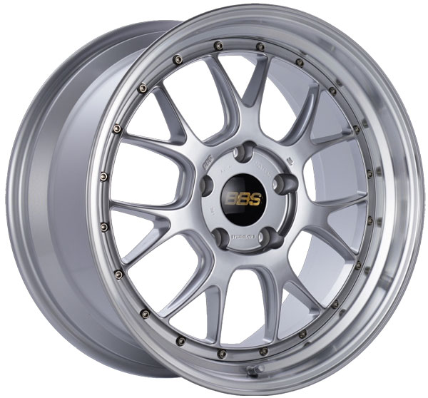 BBS LM311DSPK | LM-R 19x9.5 5x130 ET40 CB71.6 Diamond Silver Center Diamond Cut Lip Wheel