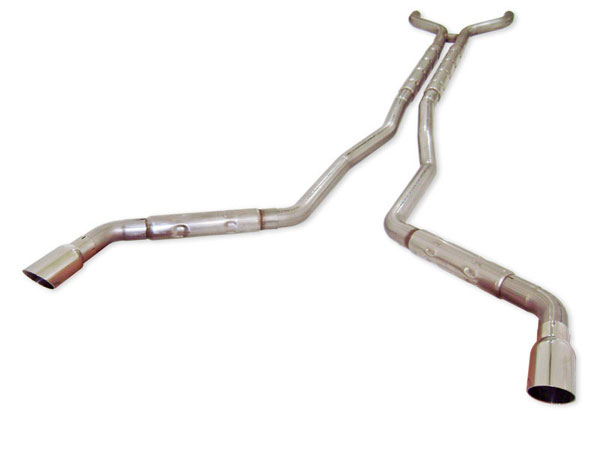 Stainless Works (CA11V6CB)  Chevy Camaro V6 2010-15 Exhaust 2-1/2'' Chambered Round