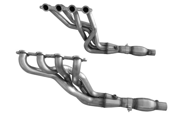 LMPerformance CA201078SHWC | ARH LongTube 1-7/8 304-SS Long Tube Headers SHORT System (with Cats) for CAMARO V8 LS3/L99/ZL1/1LE; 2010-2015