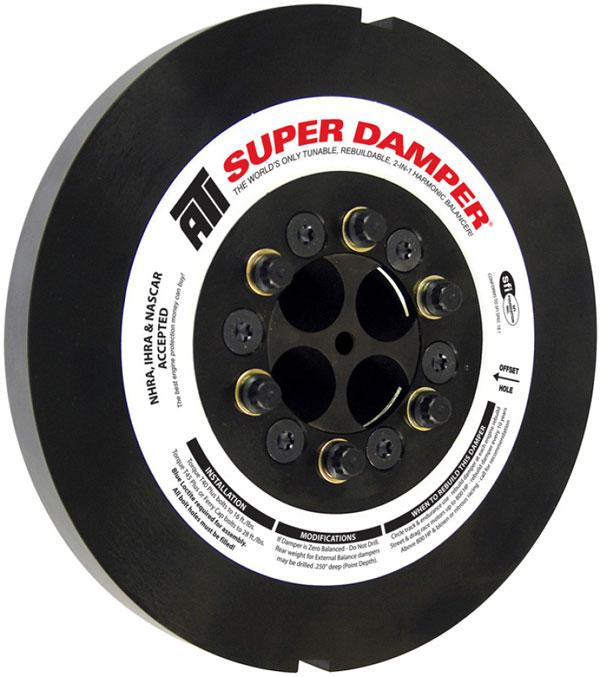 ATI ati917373 | Damper - 9.25in - Steel - 8 Grv - Cummins 6BT - 5.9L - 92-98 - 2 Timing Slots - 3 Ring - Diesel