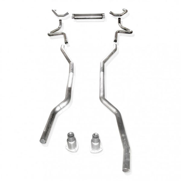 Stainless Works (CA6714SH)  Chevy Camaro 1967-68 Exhaust BB Stainless System