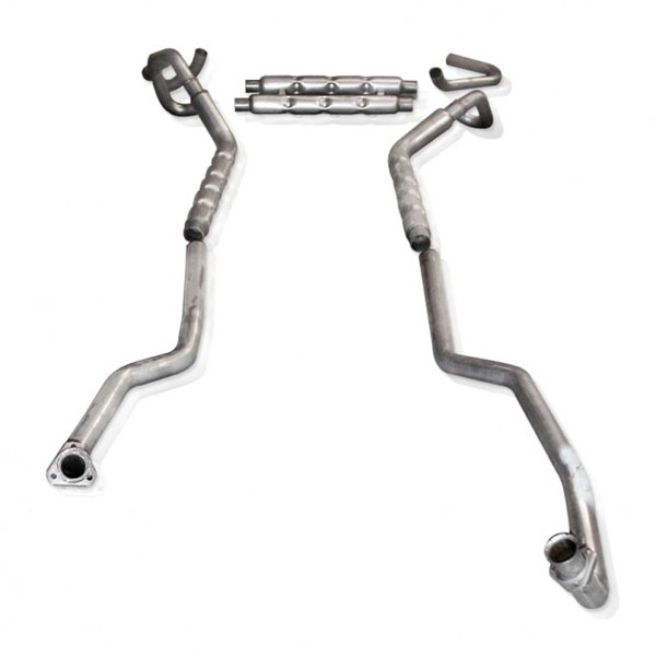Stainless Works CA67821S:  Chevy Camaro 1967-68 Exhaust SB Stainless System