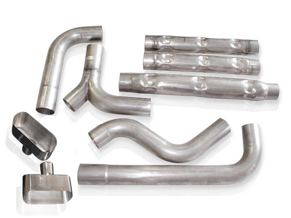 Stainless Works CA9302CH-WO:  Chevy Camaro / Firebird 1993-02 Exhaust 3'' Chambered Catback