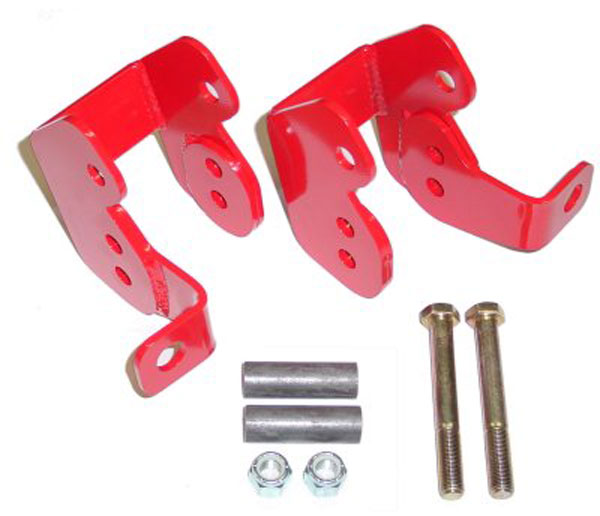 BMR Suspension CAB002 | BMR Control arm relocation brackets, bolt-on, Firebird V8 / V6; 1982-2002