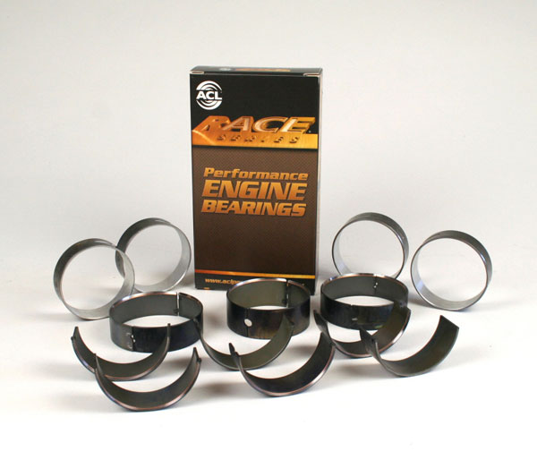 ACL 5m7298hc-std | Chevy V8 4.8/5.3/5.7/6.0L Race Series Standard Size Main Bearing Set - CT-1 Coated
