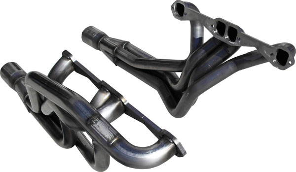 American Racing Headers CASB-67178300STHR:  Camaro 1967-1969 1-7/8in x 2in x 3-1/2in Step Header Pair (Stock Bolts)