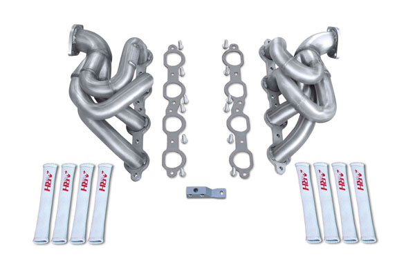 American Racing Headers CAV8-10134212SH:  Camaro V8 2010-2015 LS3/L99/ZL1 ARH Shorties: 1-3/4in x 2-1/2in Header, Direct to Fit To Stock Cats