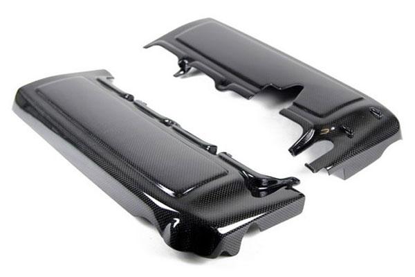 APR Performance CBE-MUGFUEL |  Mustang GT Fuel Rail Covers Carbon Fiber; 2005-2010