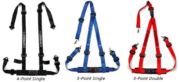 Corbeau cbelts-double: Corbeau Harness Belt, Double Release