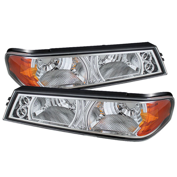 xTune (CBL-YD-CCO04-C)  Chevrolet Colorado 04-12 / GMC Canyon 04-12 Bumper Lights - Chrome