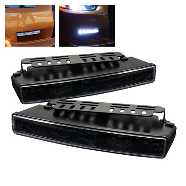 xTune CBL-YD-DRL-EA-BK:  Universal DRL ( Engine Activated ) LED Lights - Black