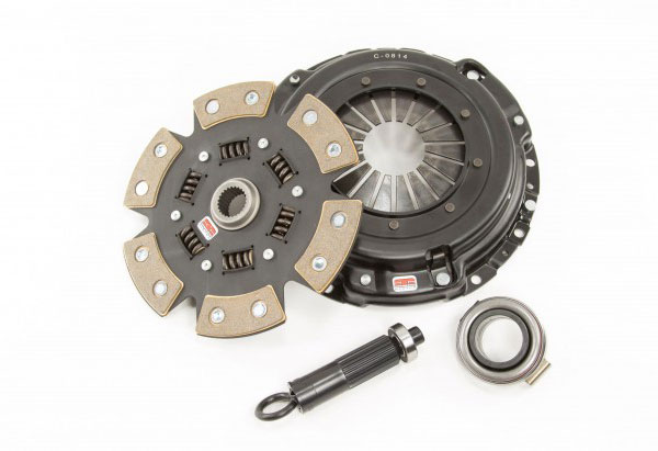 Competition Clutch 8026-1620-X |  Stage 4 - 6 Pad Ceramic Clutch Kit, Acura Integra 1.8L (B18B, B18C); 1994-2001