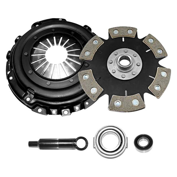 Competition Clutch 8022-0620 |  Stage 4 - 6 Pad Rigid Ceramic Clutch Kit, Honda Civic 1.6L EXCEPT SI (D16); 1992-2001