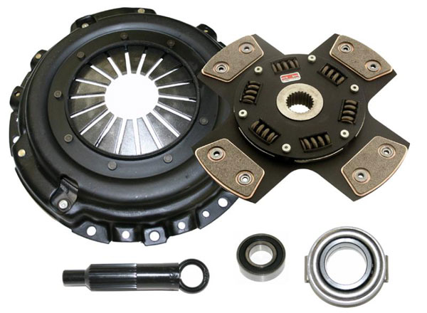 Competition Clutch 16080-1420 |  Stage 5 - 4 Pad Ceramic Clutch Kit, Lotus Elise 1.8L (2ZZGE); 2002-2008