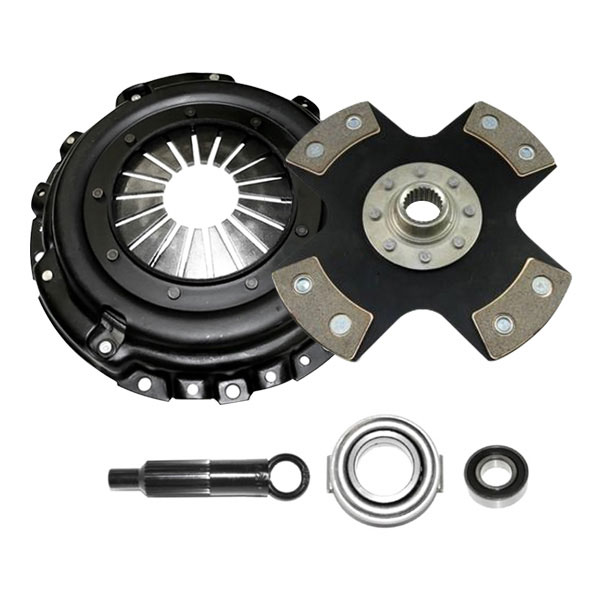 Competition Clutch (8017-0420)  Stage 5 - 4 Pad Rigid Ceramic Clutch Kit, Acura Integra 1990-1991 1.8L (B18A1)