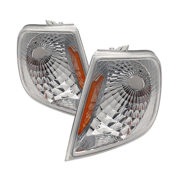 xTune CCL-FF15097-E-AM |  Ford F150 Amber Corner Lights - Euro; 1997-2001