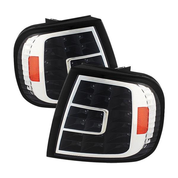 xTune CCL-FF15097-LED-BK    Ford F150 LED Corner Lights - Black; 1997-2003
