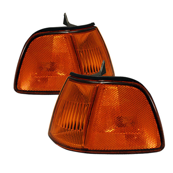 xTune CCL-HC90-3D-C-AM |  Honda Civic 3Dr Corner Lights - Amber; 1990-1991