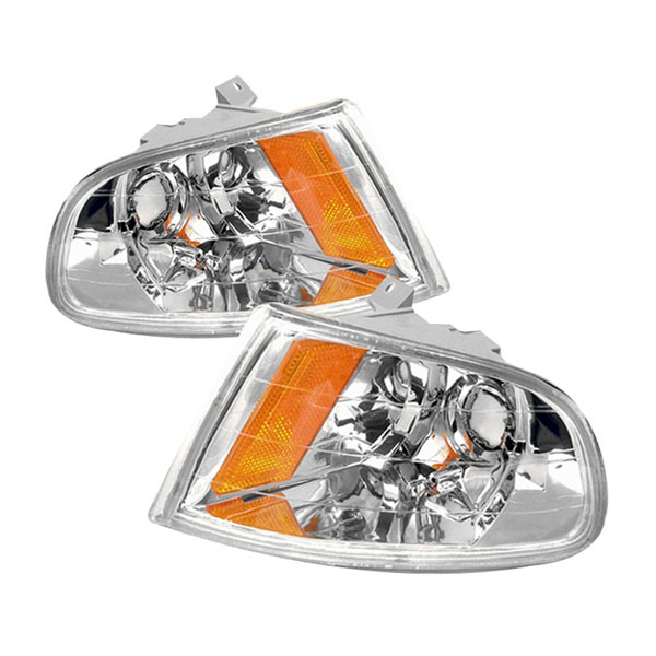 xTune (CCL-HC92-23D-E-AM)  Honda Civic 2/3Dr 92-95 Corner Lights - Amber