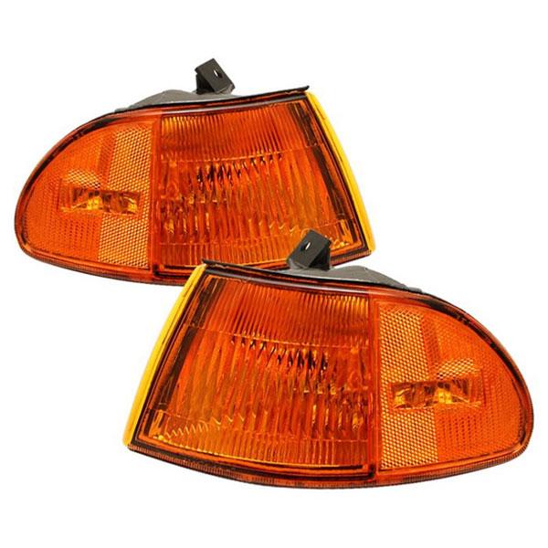 xTune CCL-HC92-4D-E-AM |  Honda Civic 4Dr Corner Lights - Amber; 1992-1995