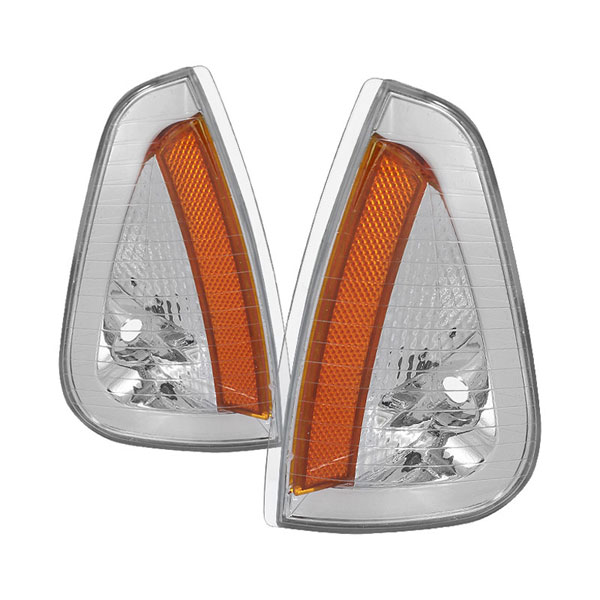 xTune CCL-JH-DCH05-AM-E:  Dodge Charger 05-10 Amber Corner Lights - Euro