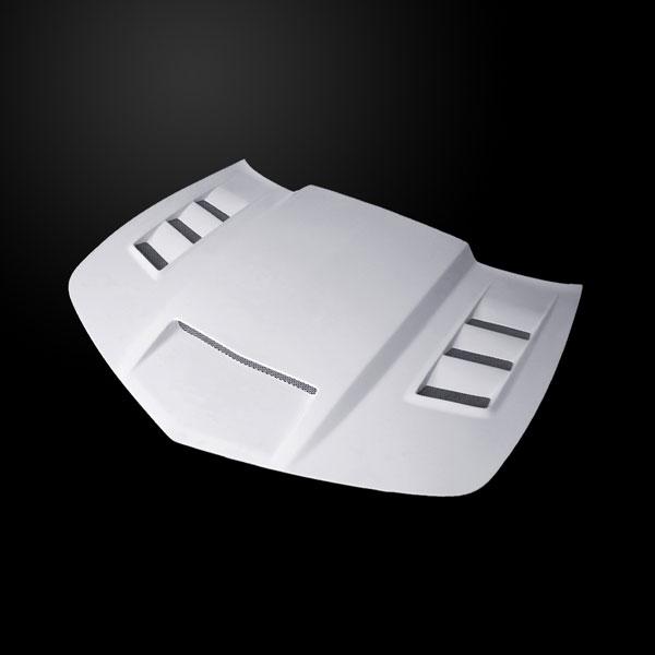 Amerihood CCM10AHVIPFHW | Chevrolet Camaro VIP Style Functional Ram Air Heat Extractor Hood; 2010-2013
