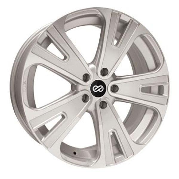 Enkei 475-880-1240sm   Universal SVX Truck & SUV 18x8 40mm Offset 5x120 Bolt 72.6mm Bore Silver Machined Wheel