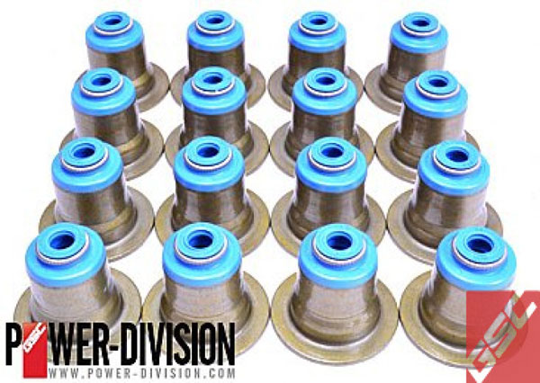 GSC Power Division b1010 | GSC P-D Mitsubishi Evo X 4B11T Valve Stem Seal - Set of 500