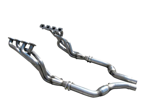 American Racing Headers CHR57-15200300LSWC |  Charger 5.7 2in x 3in Headers, 3in Connection Pipes With Cats; 2015-2017