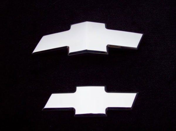 Empire CM261FRP:  Camaro 2010-11 - 2011 Front/Rear Combo Bowtie Emblem Smoothie - Polished