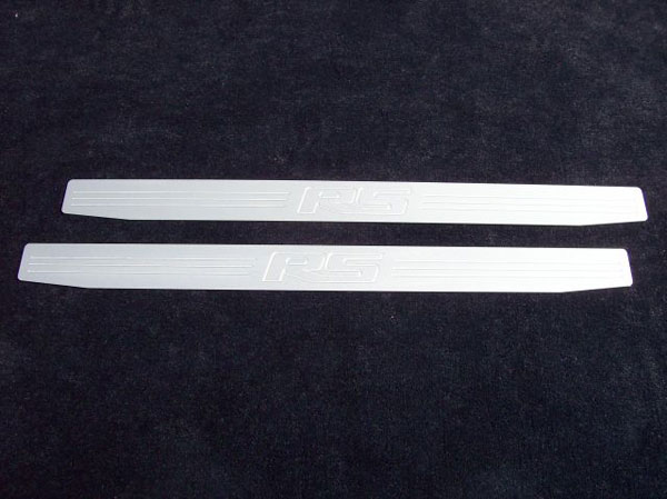 Empire CM357RSS:  Camaro 2010-11 - 2011 Door Sill Plates with RS emblem (pair) - Satin