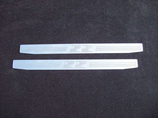 Empire CM357SSP |  Camaro - Door Sill Plates with SS emblem (pair) - Polished; 2010-2012