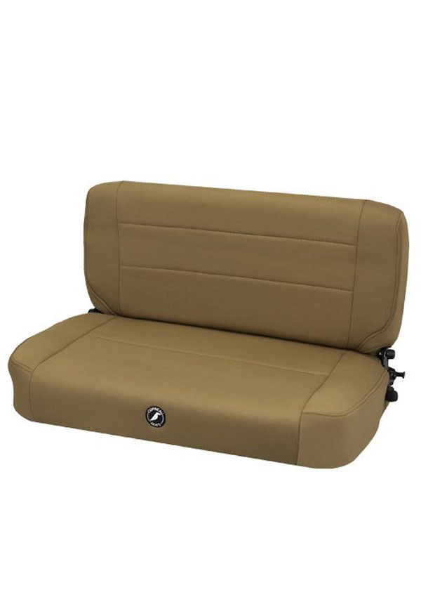Corbeau 60007:  Safari Fold and Tumble Bench Seat in Spice Neoprene