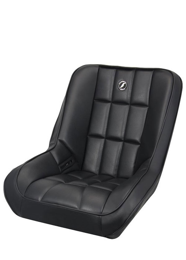 Corbeau 62201:  Baja SS Suspension Seat in Baja Low Back Black Vinyl