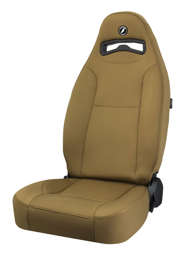 Corbeau 70007:  Moab Reclining Seat in Spice Neoprene (Sold in Pairs, Price is for 2 Seats)